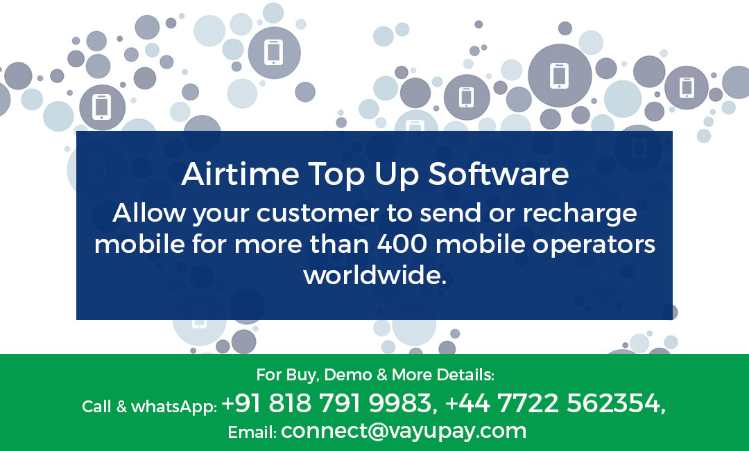 What is Airtime Top Up Software?