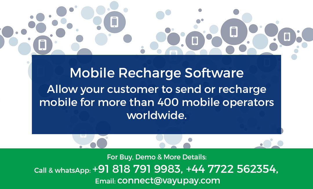 What is Mobile Recharge Software?